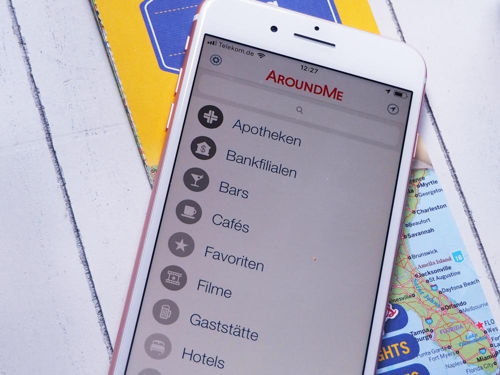 Reise Apps: Around Me