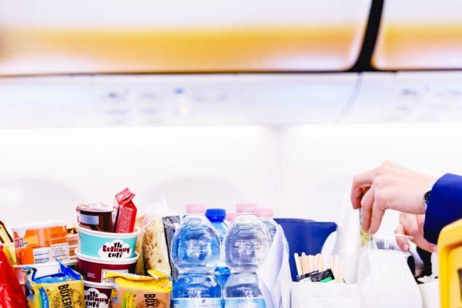 Müll vermeiden Flug