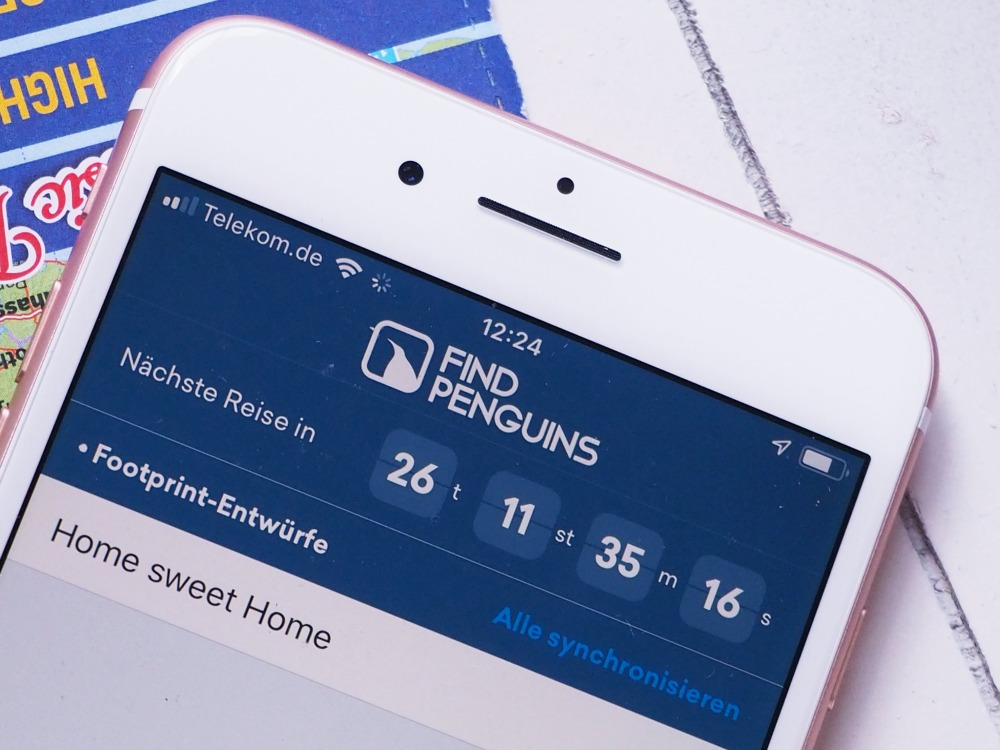 Reise Apps: Findpinguins APP
