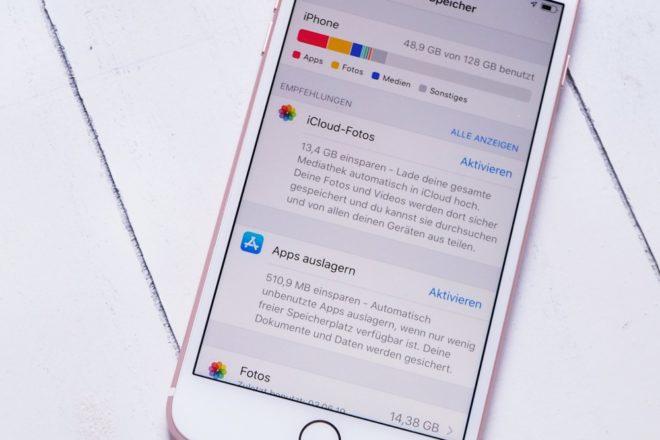 Smartphone aufräumen Apps