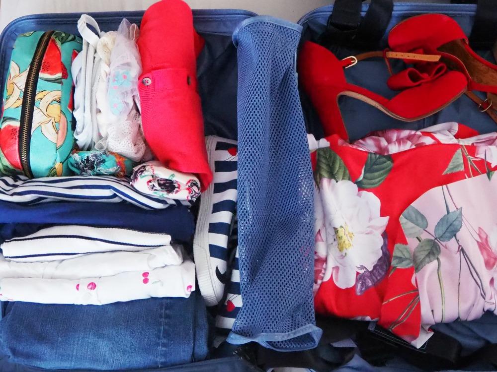 Koffer ohne Falten