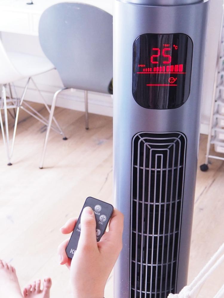 Temperatur herunterregeln