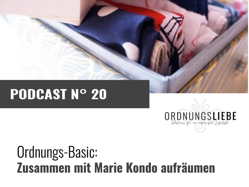 Podcast Marie Kondo