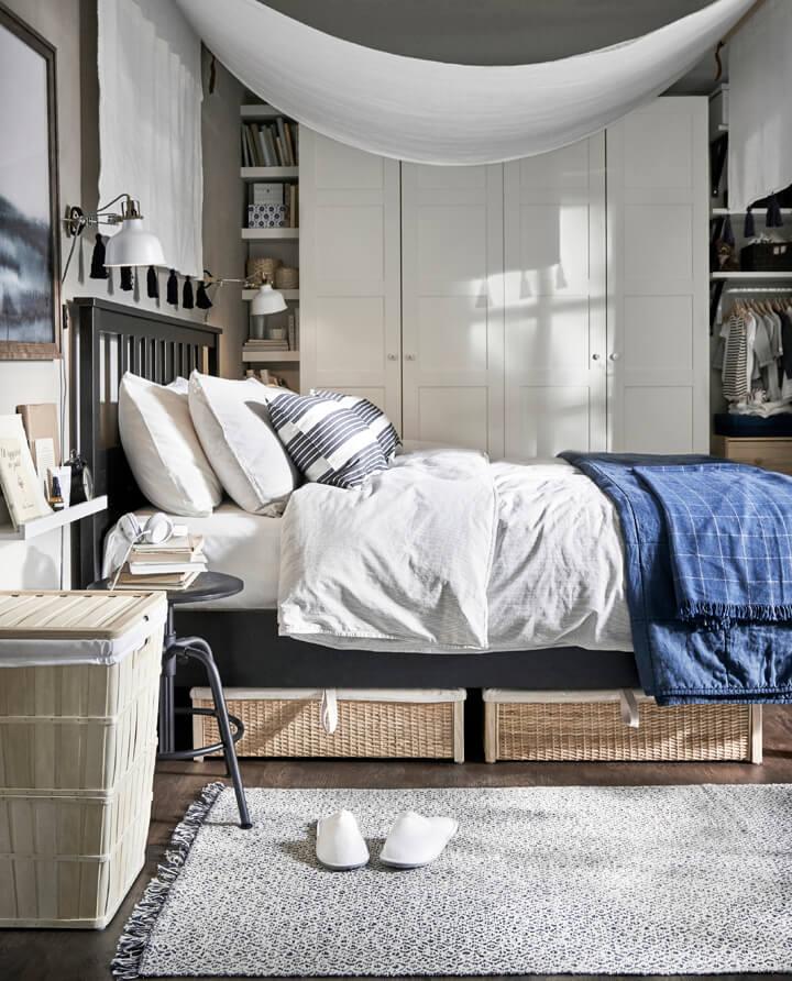 Bett Waesche IKEA