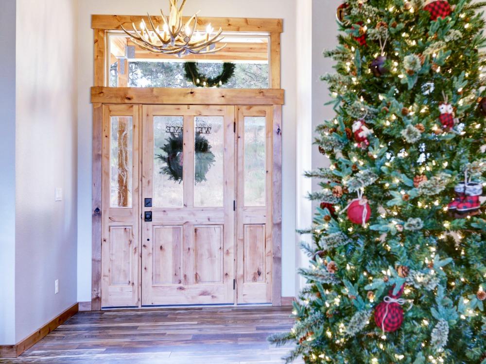 Flur Weihnachten stressfrei