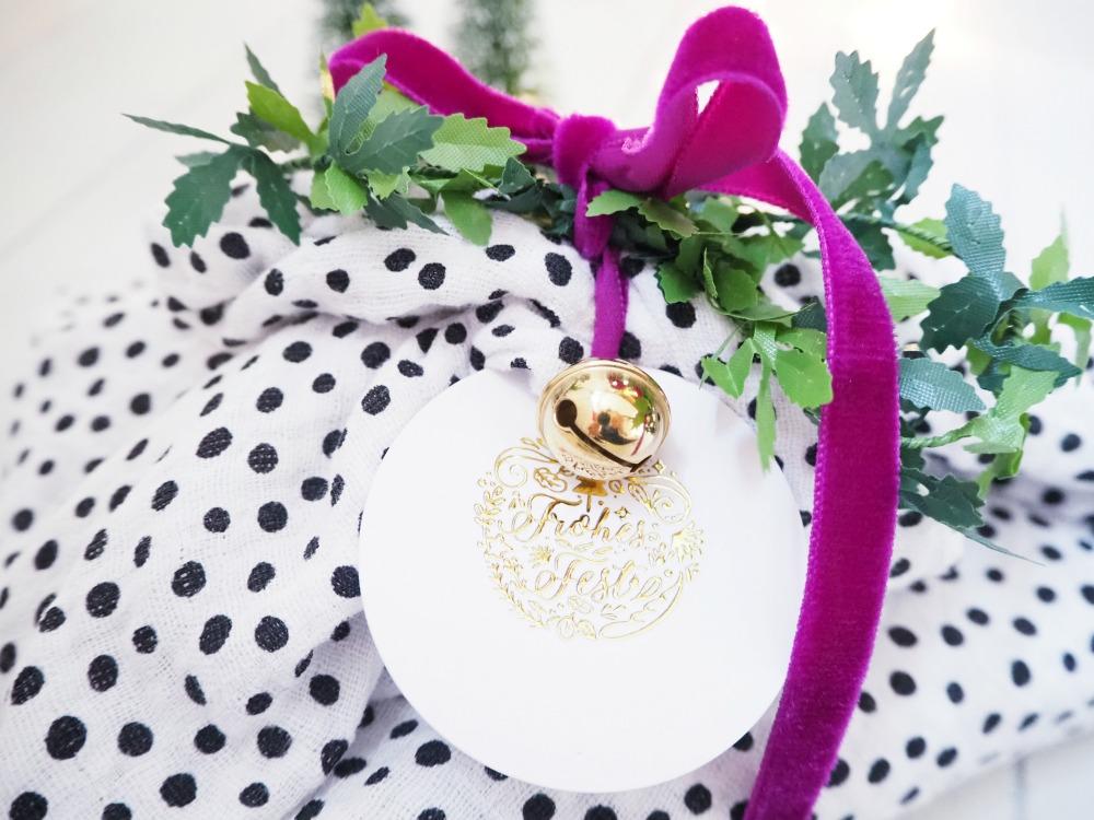 Furoshiki Geschenkverpackung basteln