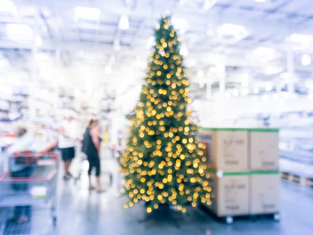 Weihnachtsdeko wegraeumen