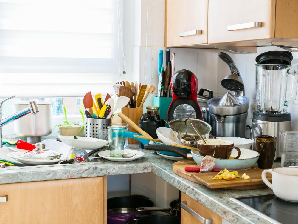 dauerhaft ordentlich in der Küche bleiben