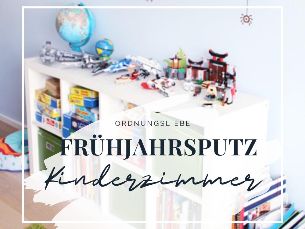 Frühjahrsputz Kinderzimmer