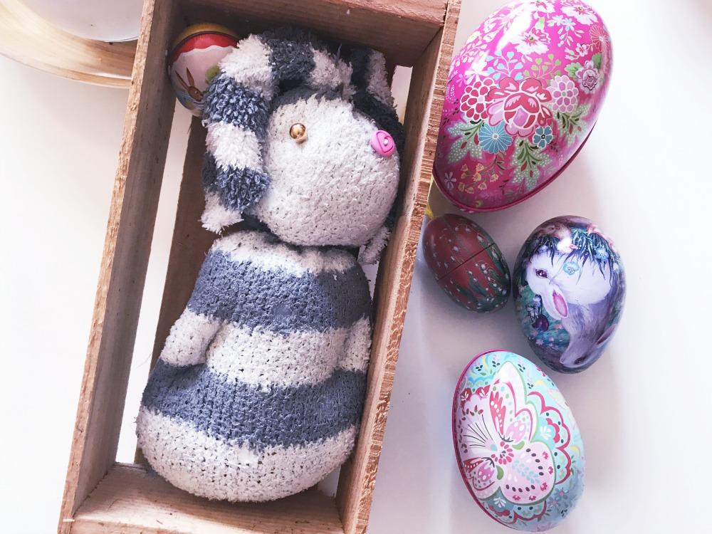 DIY Ostern Hase aus Socke