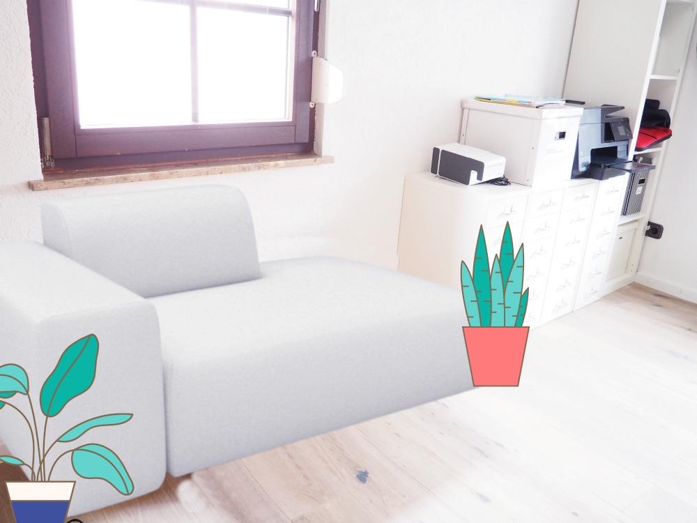 Sofa Bastelbild