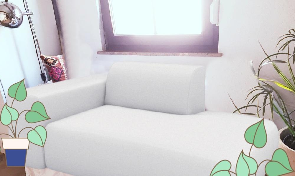 Sofa freigestellt