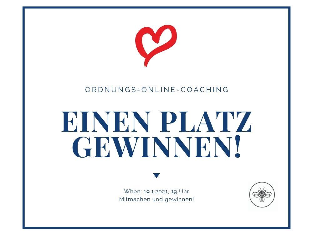 Ordnungs-Online-Coaching