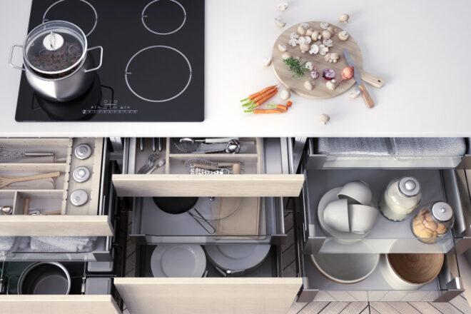 Die Küche richtig einräumen