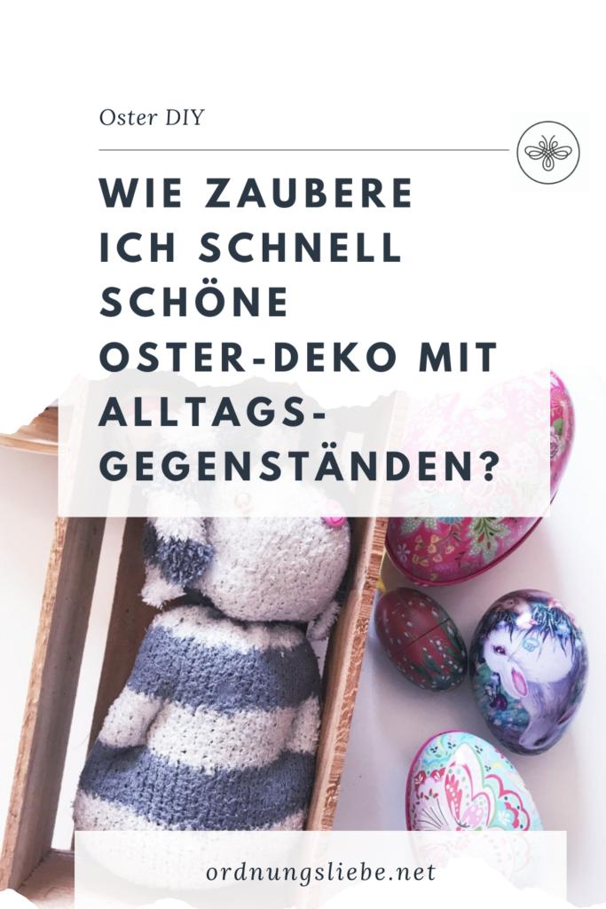Schnelles Oster DIY