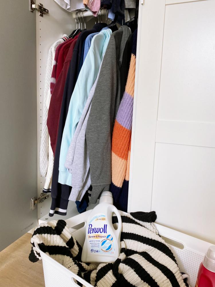 Henkel Fruehjahrsputz Kleiderschrank