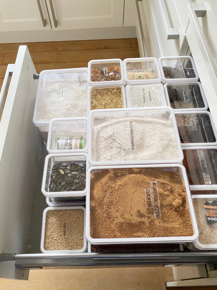 Lebensmittel umfüllen in Vorratsdosen – welche Größen brauche ich?
