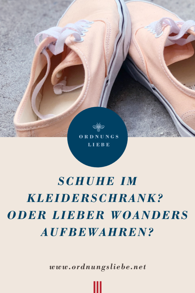 PIN Schuhe im Kleiderschrank